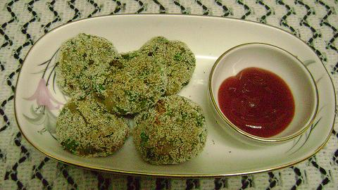 aloo palak spinach cutlet