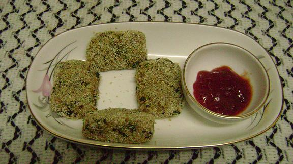 Oats Palak Cutlet